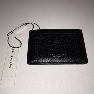 Marc Jacobs leather credit card holder